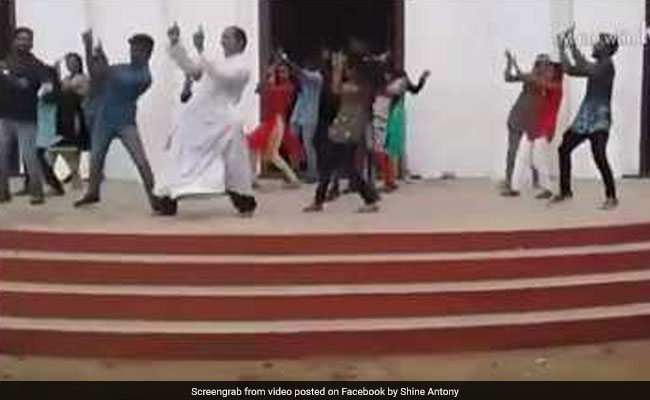 Viral: A Kerala Priest And His Dance Moves Have The Internet's Attention