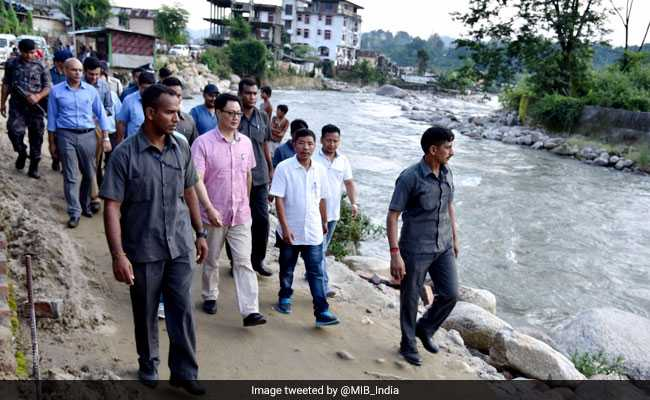 Rijiju to lead central team to flood-hit northeast
