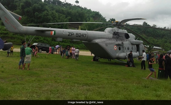 Minister Kiren Rijiju Safe After Chopper Makes Emergency Landing