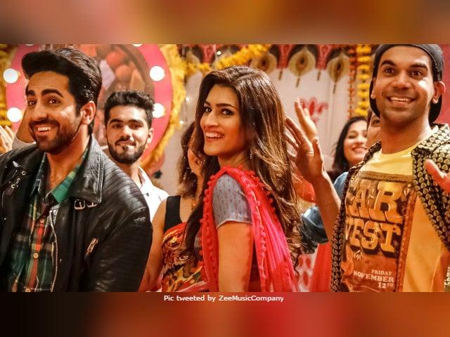 Bareilly Ki Barfi Song Sweety Tera Drama: Kriti Sanon, Ayushmann Khurrana, Rajkummar Rao Machaye Hungama