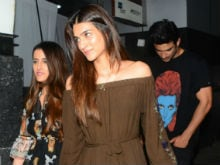 All About Sushant Singh Rajput's Date Night With Kriti Sanon. See Pics