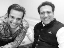 When Govinda Checked Up On Krushna Abhishek, Kashmera Shah's Twins