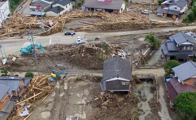 Japan Floods Death Toll Rises To 25