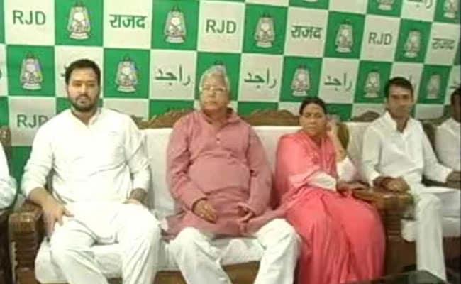 ED Raids Premises Of RJD Chief Lalu's Daughter, Her Husband In Delhi