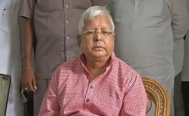 Lalu Yadav Demands CBI Probe And Sacking Of Deputy Chief Minister In NGO Case