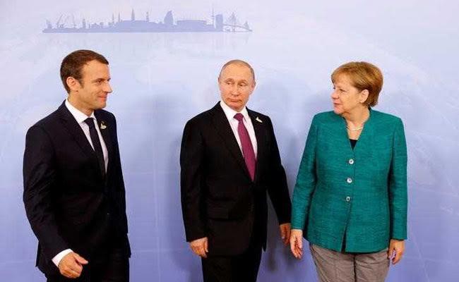 Angela Merkel, Emmanuel Macron, Vladimir Putin Agree On Importance Of Ceasefire In Eastern Ukraine