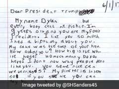 Did A 9-Year-Old Called 'Pickle' Really Write That Letter To Trump? Yep, He's Real.