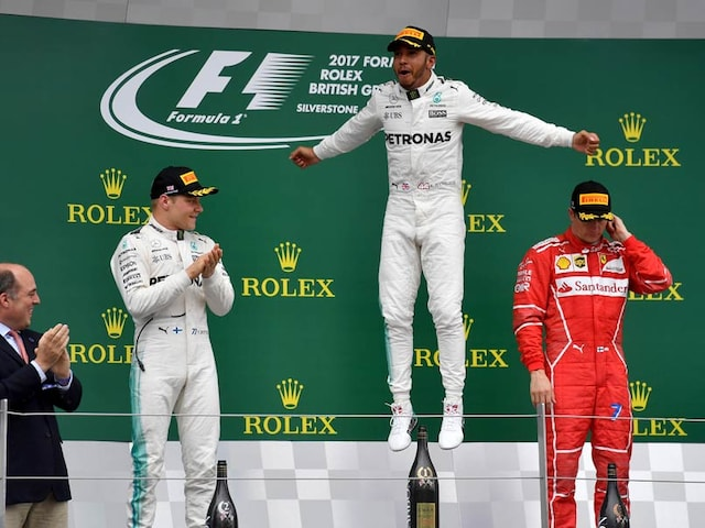Formula One: Lewis Hamilton Wins Fourth Straight British Grand Prix