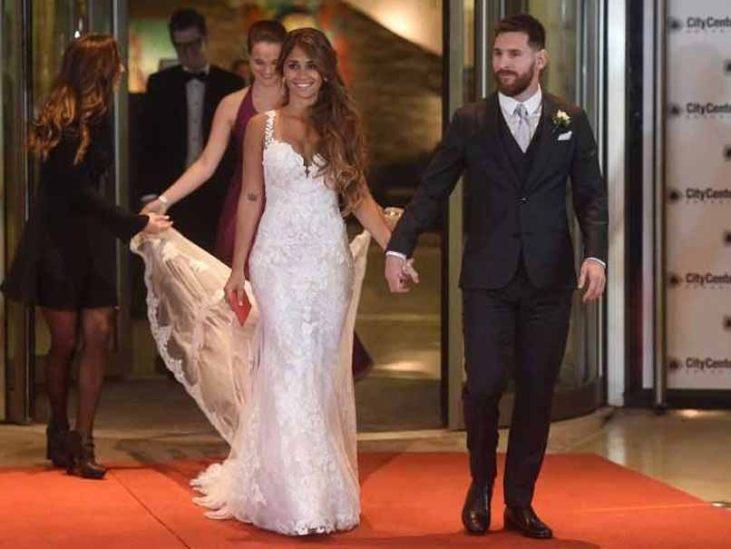 lionel messi wedding afp
