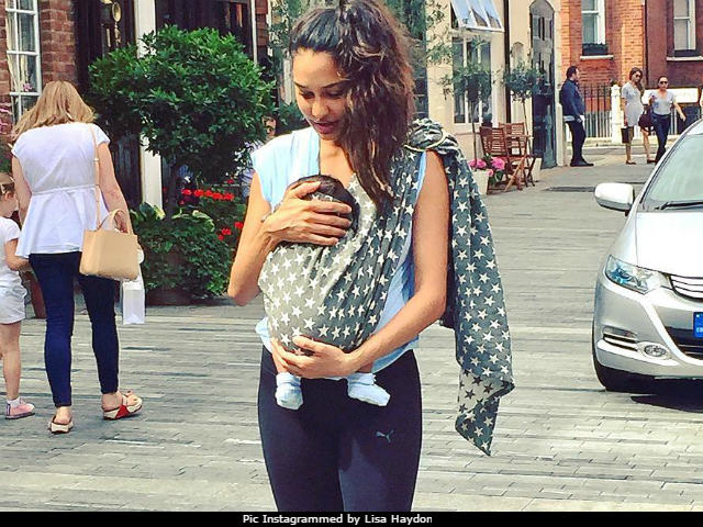 Lisa Haydon Has The Best Caption For Pic With Son