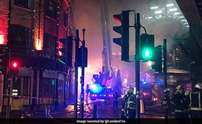 london fire camden market