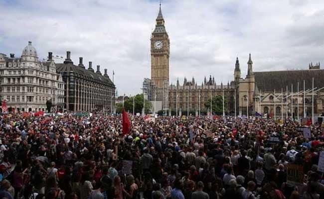 london protest