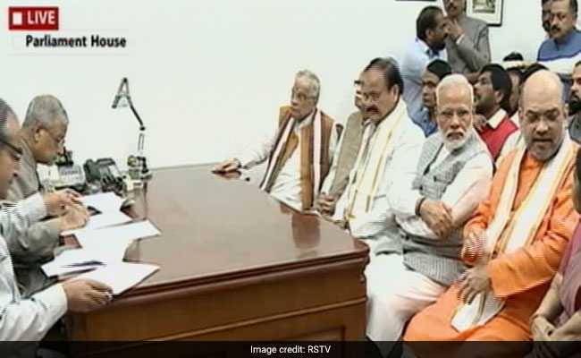 उपराष्ट्रपति चुनाव : वेंकैया नायडू ने पर्चा भरने के बाद कहा, पार्टी ने मां की तरह ख्याल रखा