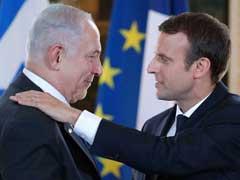 Emmanuel Macron Chides Israel PM Benjamin Netanyahu On Settlements, Urges New Mideast Talks