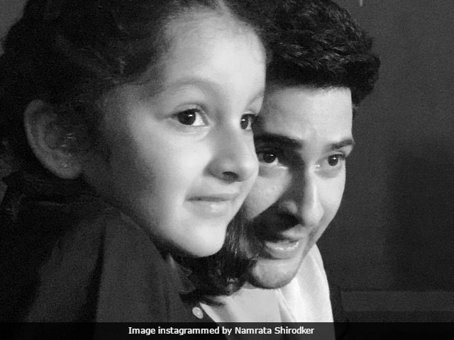 Mahesh Babu's Special Day On Spyder Sets With Namrata Shirodkar And Daughter