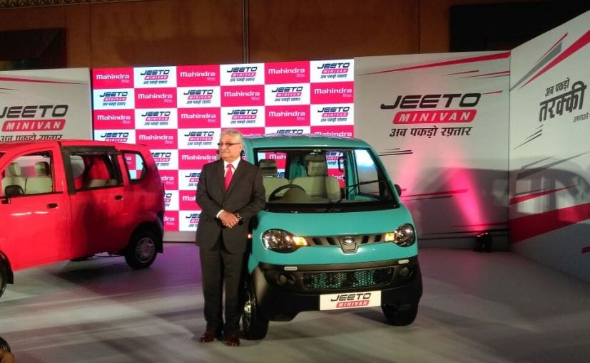Mahindra Jeeto Minivan Launched Priced At &#8377 3.45 Lakh In India