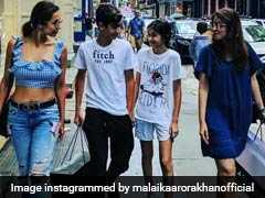 अपने पसंदीदा शहर में क्या कर रही हैं मलाइका अरोड़ा, देखें तस्वीरें...