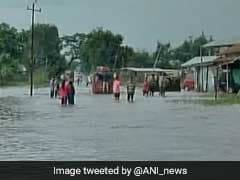Flood Situation Worsens In Manipur, River Water Levels Rise