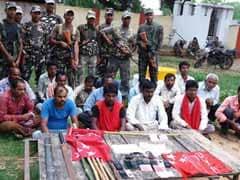 सशस्त्र सीमा बल ने 16 संदिग्ध माओवादी को गिरफ्तार किया
