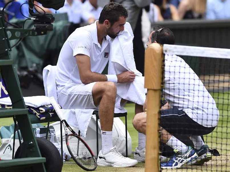 Wimbledon 2017: Devastated Marin Cilic Reveals Blister Sparked Tears