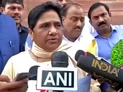 """Mob Lynching In Name Of Cow Vigilantism Blot On Democracy"": Mayawati"
