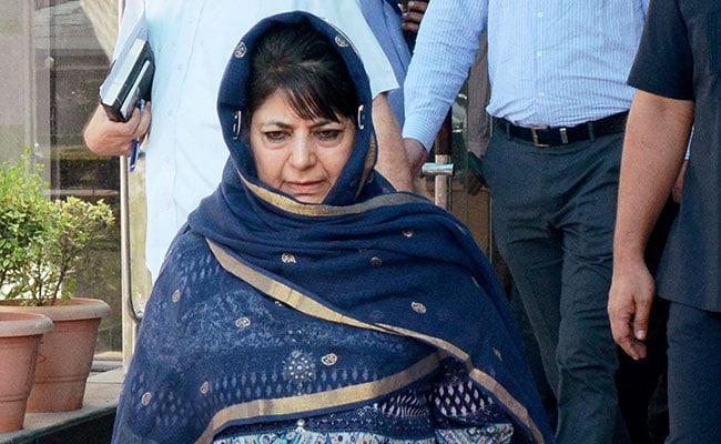 Have Faith Supreme Court Will Dismiss Challenge To Jammu And Kashmir's Special Status: Mehbooba Mufti