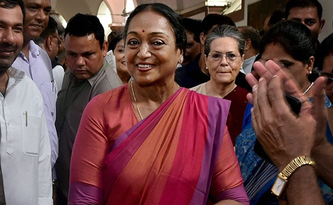 Atmosphere Of Fear Must End: Opposition Presidential Nominee Meira Kumar