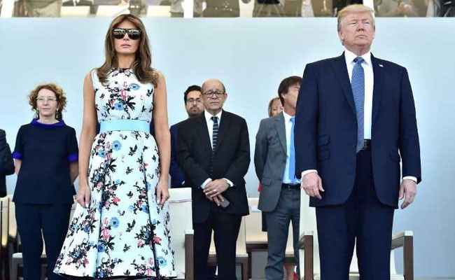 Where's Melania? A Reluctant First Lady Finds Her Comfort Zone Overseas.