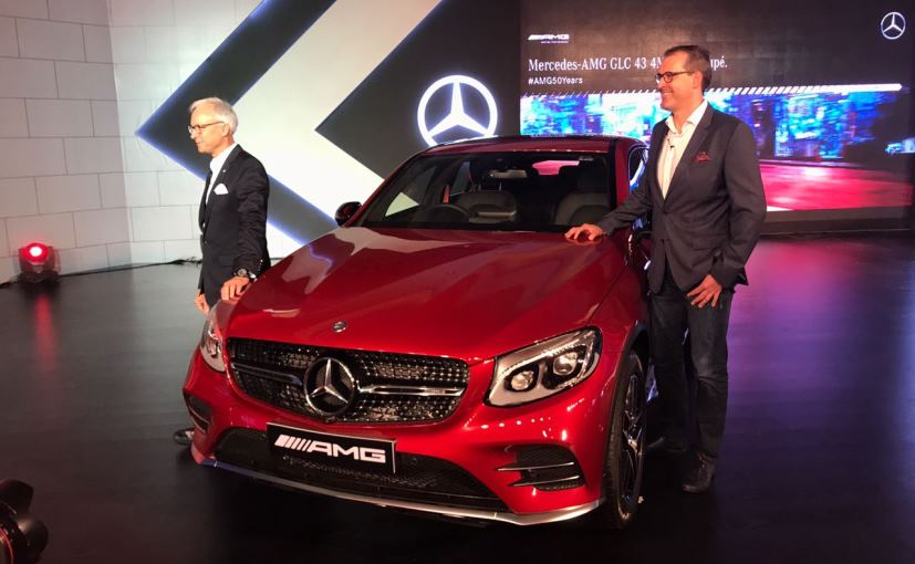Mercedes-AMG GLC43 4Matic Coupe Launched In India; Priced At &#8377 74.8 Lakh