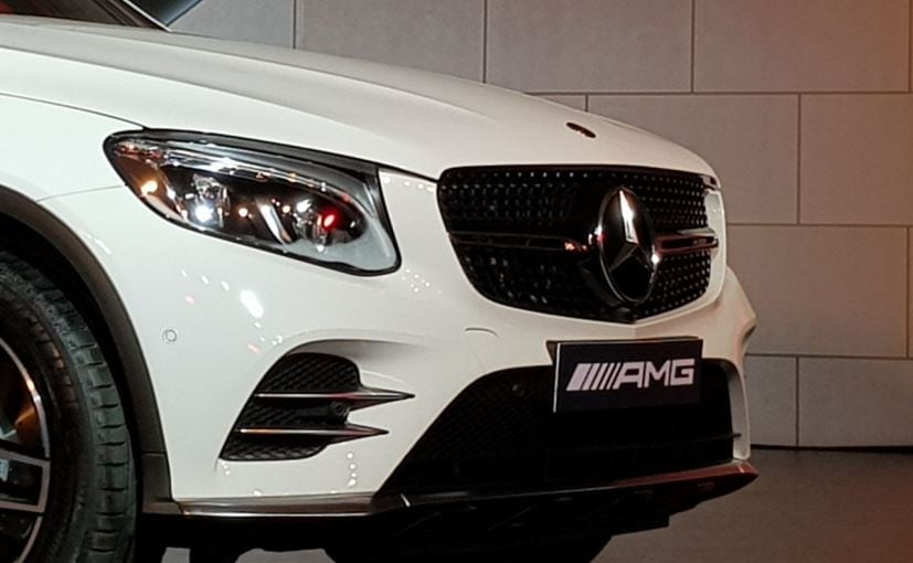 mercedes amg glc 43 coupe launch