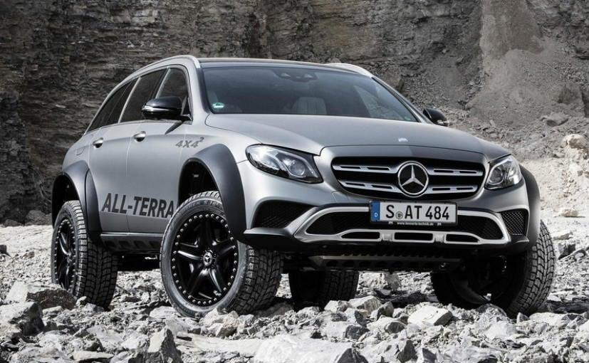 Mercedes-Benz E-Class All-Terrain Concept Unveiled