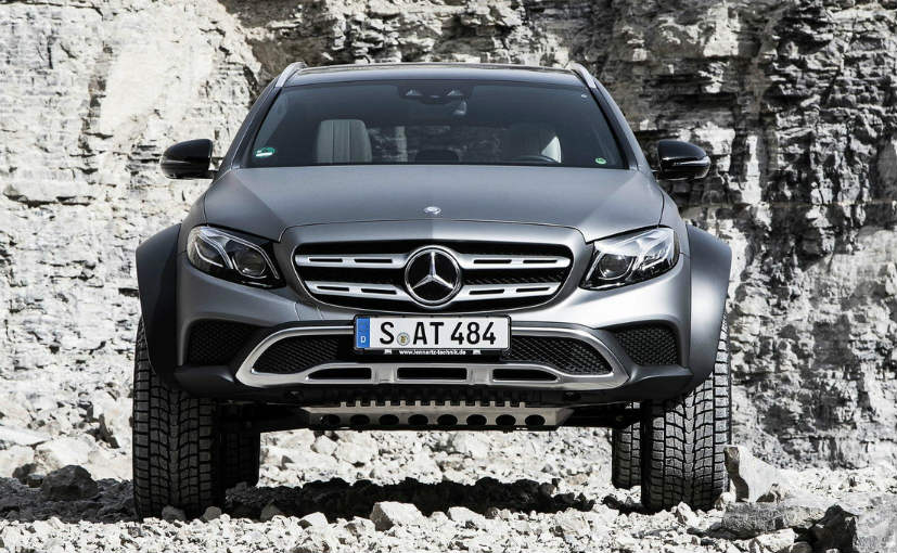 Mercedes benz e class all terrain concept unveiled ndtv for Mercedes benz e class suv
