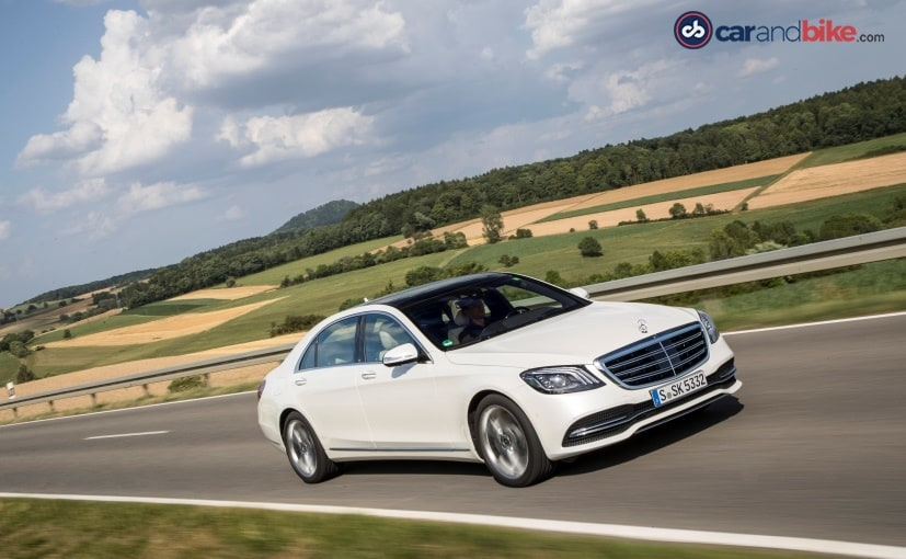 mercedes benz s class facelift driving dynamics