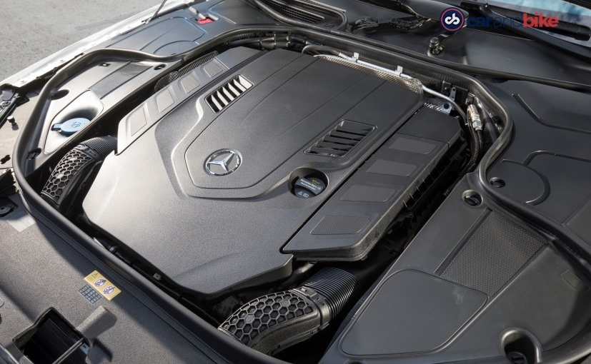 mercedes benz s class facelift engine