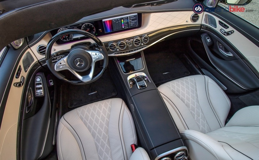 mercedes benz s class facelift interior