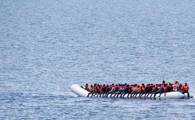 90 feared drowned off coast of Libya as people smuggler's boat capsizes