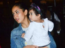 Baby Misha Flies Home With Shahid Kapoor And Mira, Just In Time For First Birthday