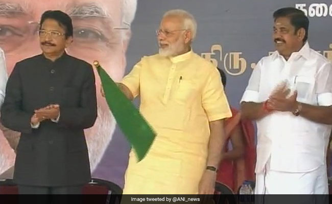 PM Modi Flags Off Ayodhya-Rameswaram Train