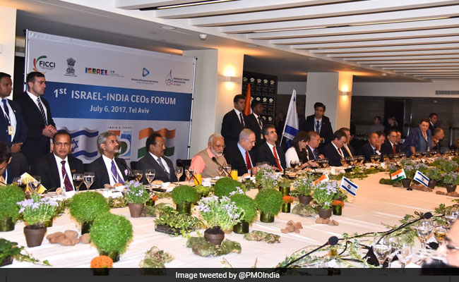 Indian, Israeli Firms Sign 12 MoUs Worth More Than 4.3 Billion Dollars