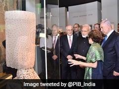 PM Modi Visits Israel Museum With Counterpart Benjamin Netanyahu