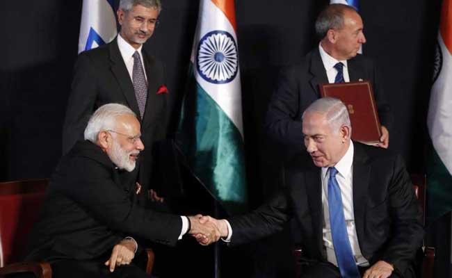 भारत और इस्राइल के बीच हुए सात समझौते, दोनों देशों ने कहा- इतिहास रचा जा रहा है...