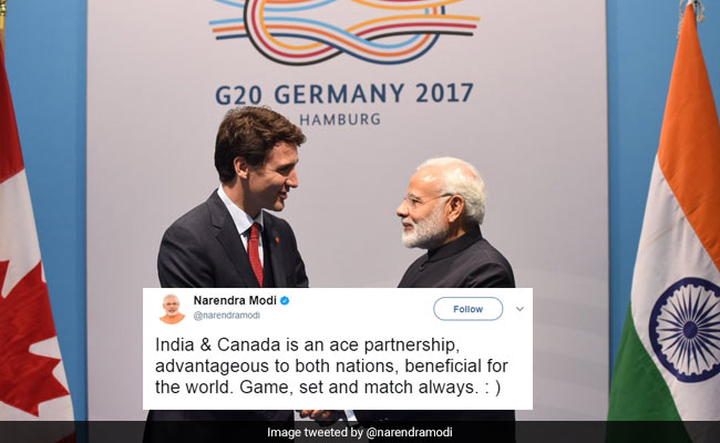 PM Modi, Justin Trudeau's 'Sporting' Tweets To Each Other Win Twitter