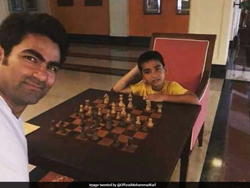 Mohammad Kaif Posts Picture On Facebook Of Playing Chess With Son, Gets Trolled