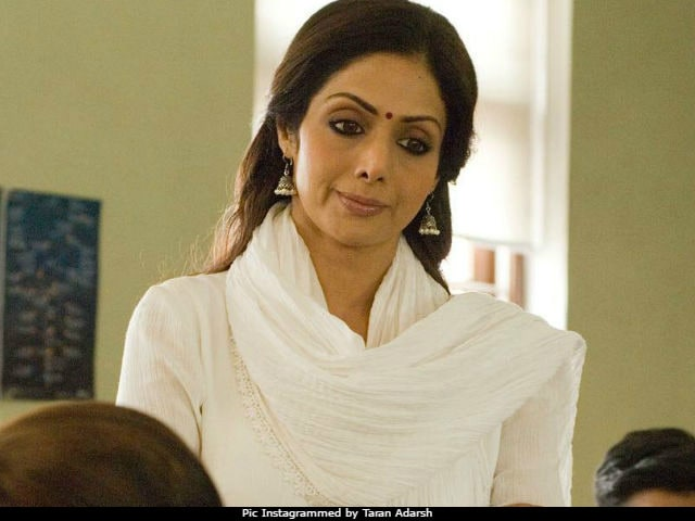 MOM Box Office Collection Day 1: Sridevi's Film Is Off To A 'Slow Start'