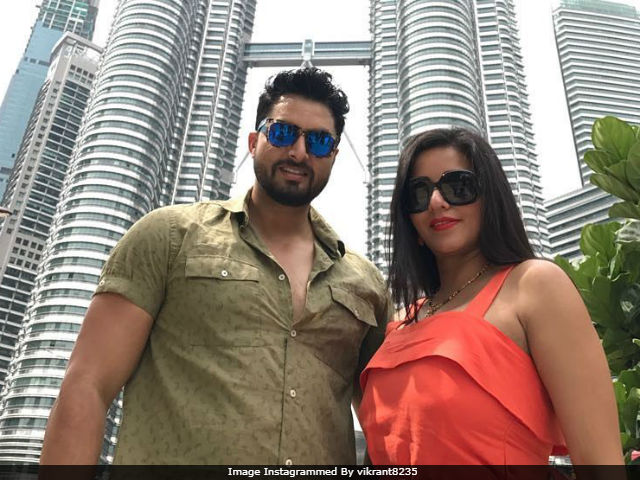 Inside Monalisa's Malaysia Vacation With Husband Vikrant Singh Rajpoot