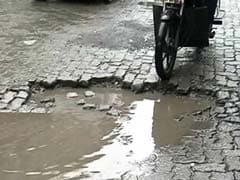 Mumbai Congress Launches Campaign To Count Potholes In City
