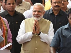 PM Narendra Modi Walks Up to Opposition In Parliament, Greets Sonia Gandhi, Others