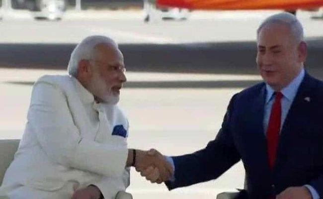 PM Modi Receives 'Friend' Benjamin Netanyahu At Airport: 10 Points