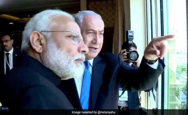 इस्राइल : नेतन्याहू ने पीएम मोदी को होटल की खिड़की से दिखाई 'टेंपल माउंट' की झलक
