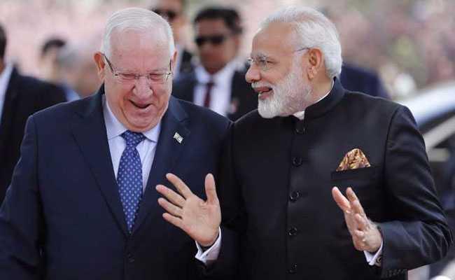 PM Modi Calls On Israel President Reuven Rivlin To Strengthen Bilateral Ties